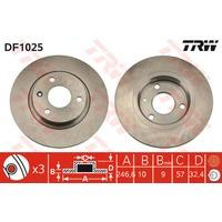 Trw DF1025 - DISCO DE FRENO
