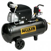 Nuair FC2/50 - COMPRESOR 2 HP CALDERA 24 LTS.222LTS/MIN 8 BAR